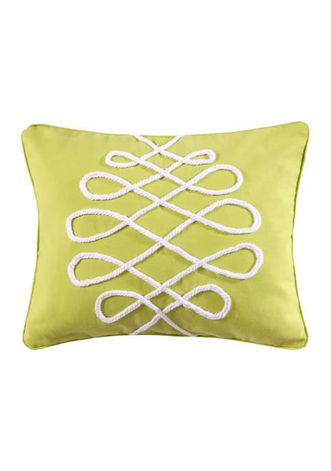 Levtex Home Deva Beach Lime Pillow