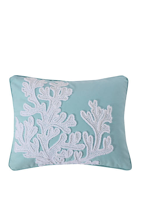 Levtex Home Icaria Coral Pillow