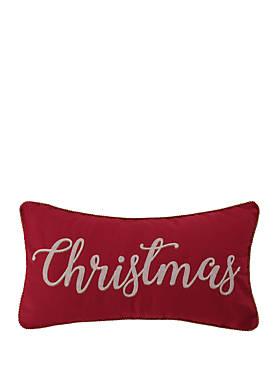 Yuletide Christmas Pillow