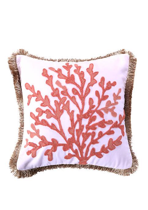 Levtex Home Cape Barren Coral Pillow