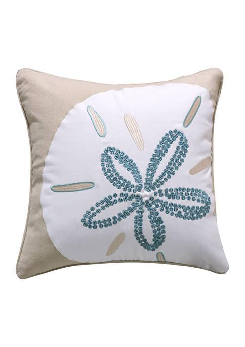 Levtex Home Laida Beach Flower Pillow