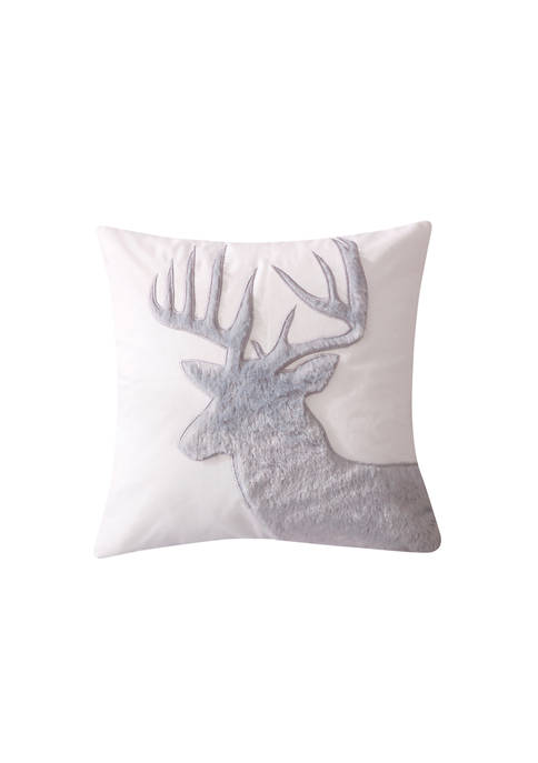Levtex Camden Faux Fur Moose Pillow