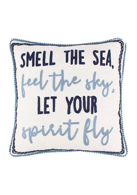 Levtex Home Pataya Words Pillow