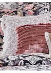 Loretta Embroidered Linen Tassel Pillow
