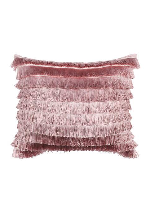 Levtex Loretta Sparkle Fringe Pillow