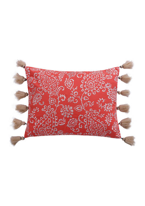 Levtex Home Baystreet Floral Pillow with Tassels