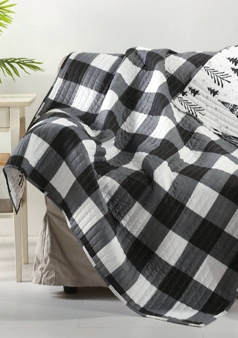 Northern Star Quilted Throw