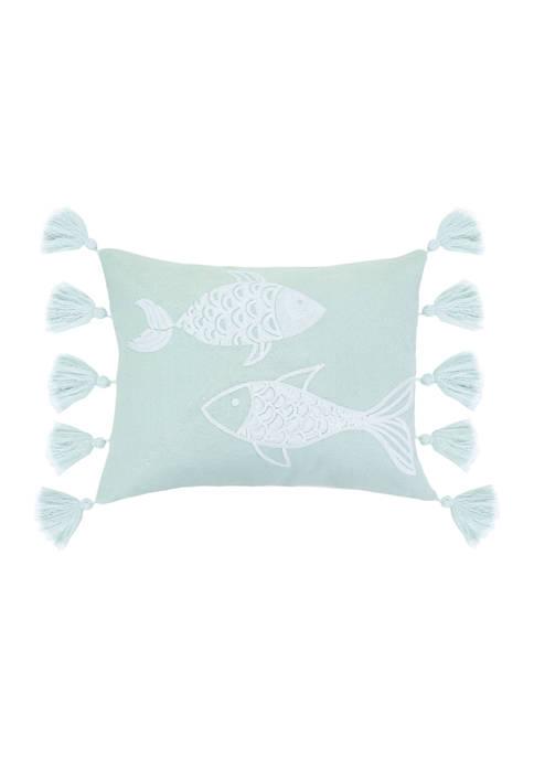 Levtex Home Sonesta Fish Tassel Pillow