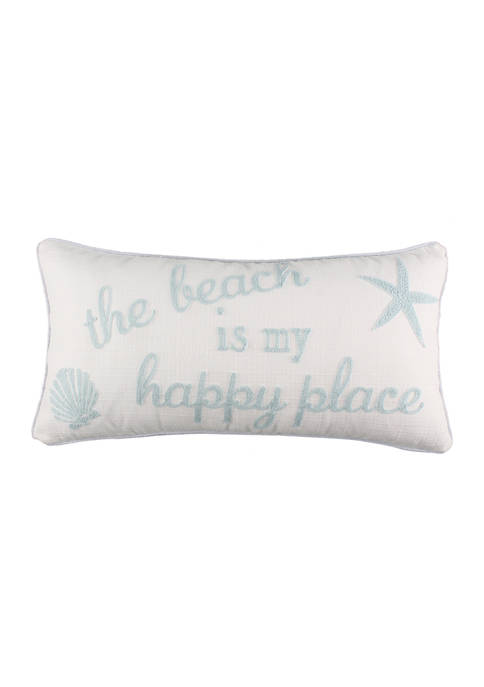 Levtex Home Sonesta Beach Happy Place Pillow