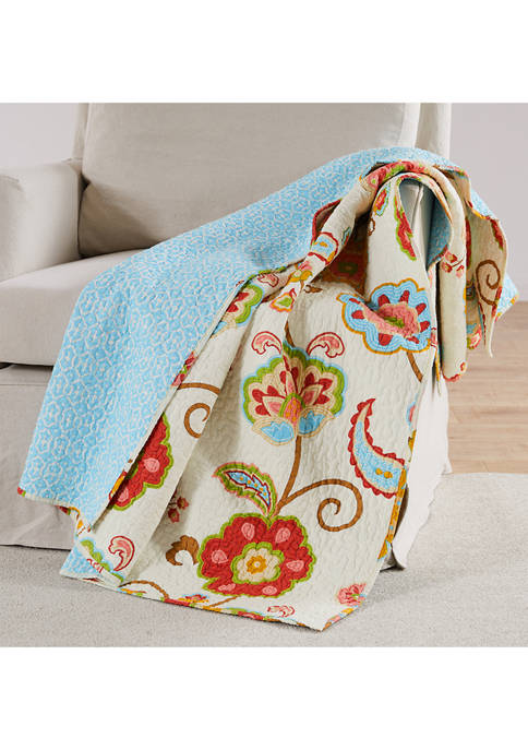 Levtex Home Ashbury Quilted Throw