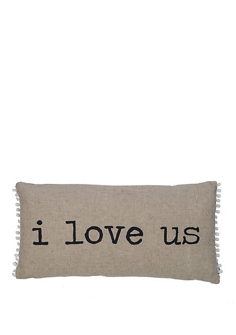 Levtex Home I Love Us Decorative Pillow