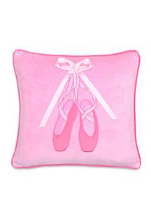 Lena Ballerina Slippers Pillow