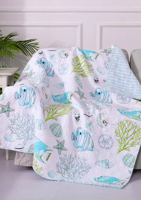 Biscayne Quilted Throw