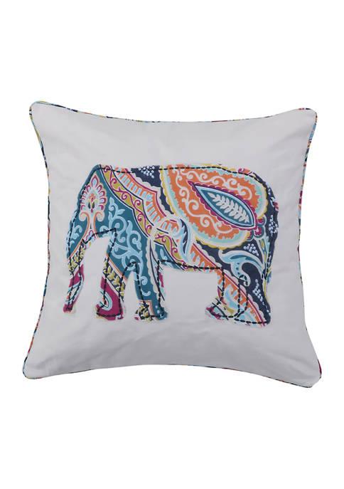 Levtex Magnolia Elephant Pillow