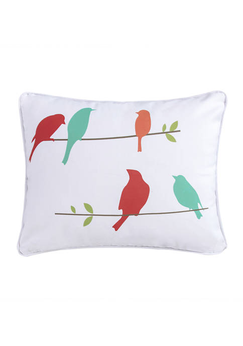 HomThreads Corona Birds Pillow