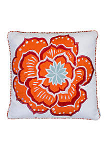 Adelais Flower Pillow