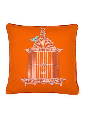 Adelais Birdcage Pillow