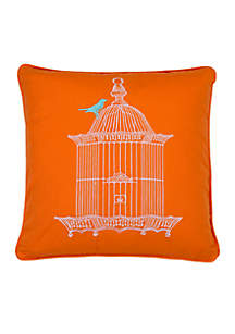 Adelais Birdcage Pillow