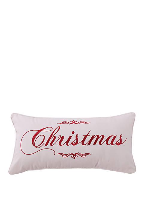 Levtex Noelle Christmas Pillow