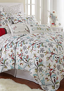 Holly Twin Quilt Set
