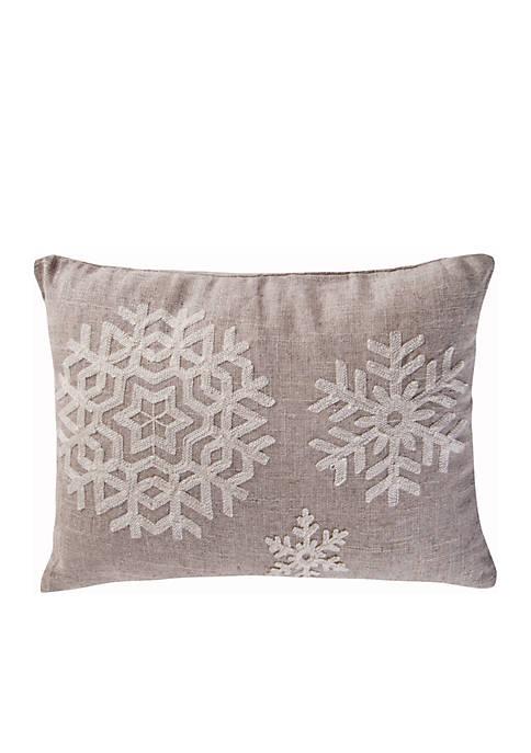 Wythe Snowflake Pillow