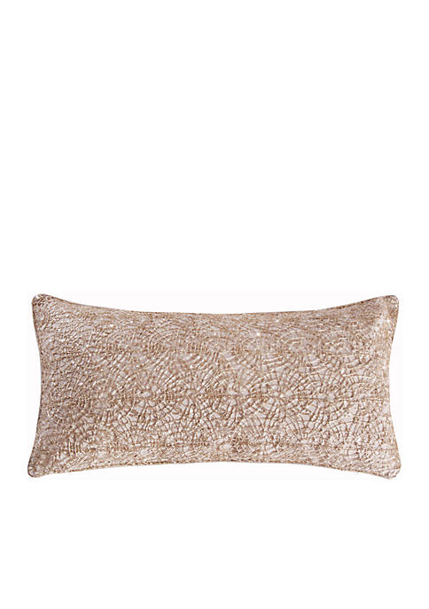 Wythe Gold Overlay Pillow