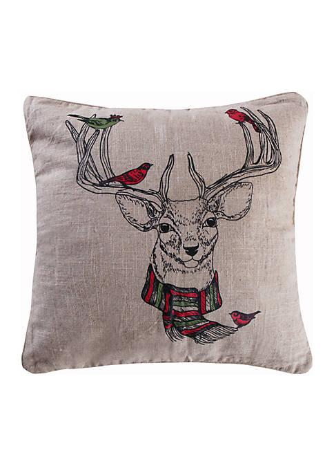 Wythe Deer Pillow