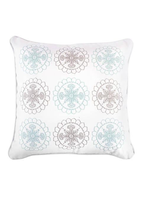 Wythe Spa Multi Medallion Pillow