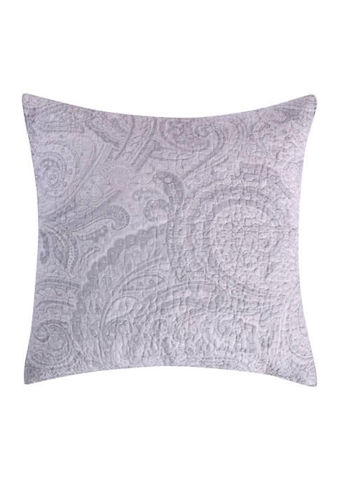 Alden Gray Euro Pillow Shams
