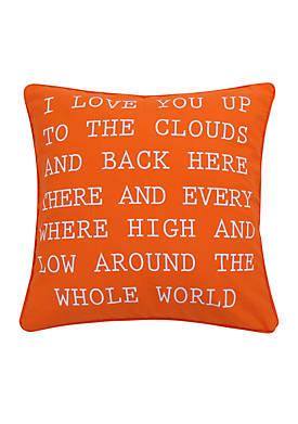 Sabine I Love you Pillow