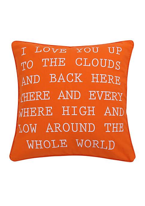 Levtex Sabine I Love you Pillow