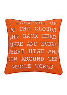 Sabine I Love you Pillow