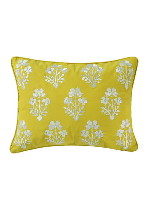 Levtex Cressley Embroidered Pillow