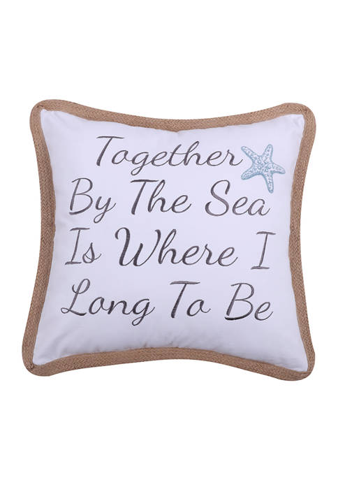 Levtex Home Together By the Sea Rope Pillow