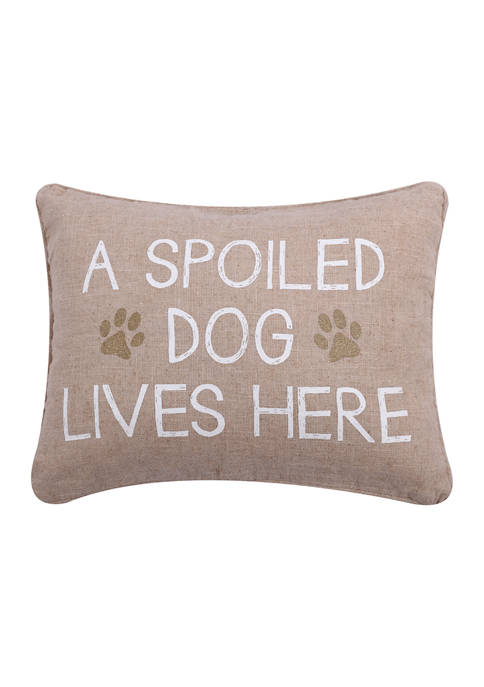 Levtex Home Spoiled Dog Pillow