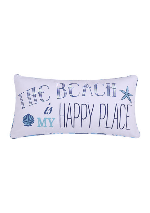 Levtex Home Beach Happy Place Pillow