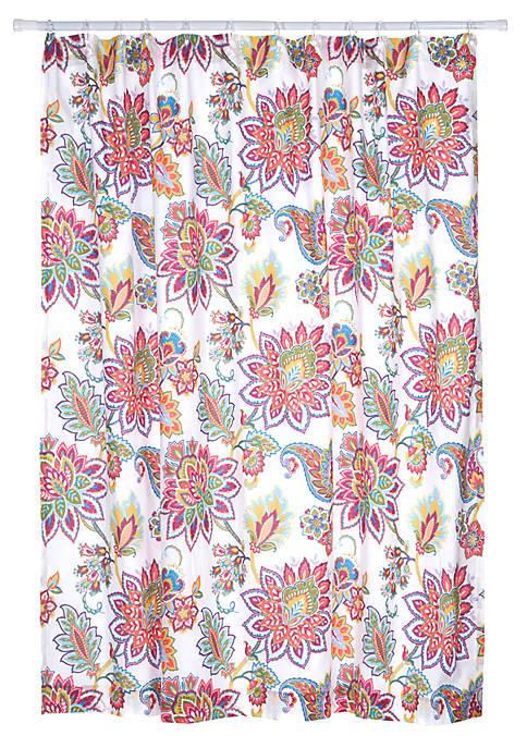 Octavio Coral Shower Curtain