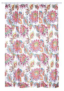 Levtex Octavio Coral Shower Curtain