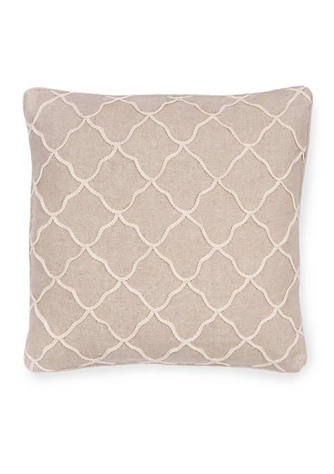 Octavio Rope Burlap Pillow