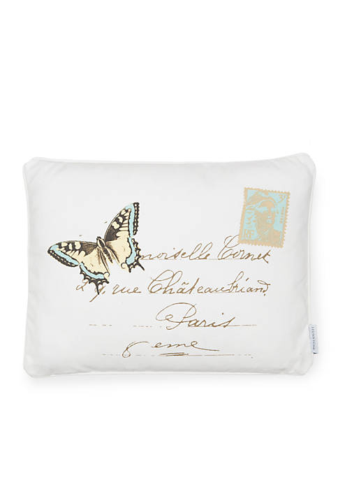 Levtex Octavio Butterfly Pillow