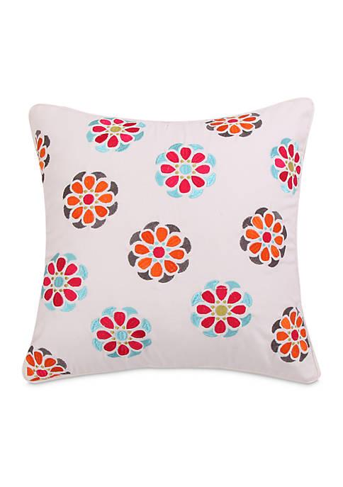 Azalea Mosaic Pillow