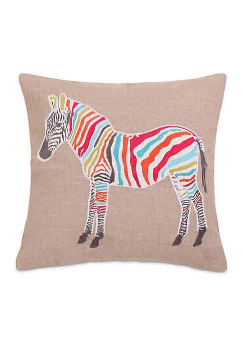 Levtex Azalea Zebra Sparkle Pillow