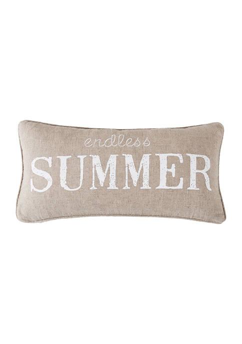 Levtex Blue Sea Endless Summer Pillow