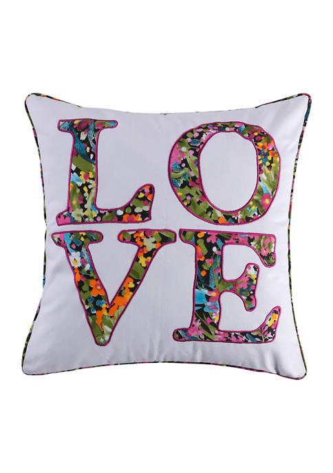 Levtex Home Basel Love Pillow