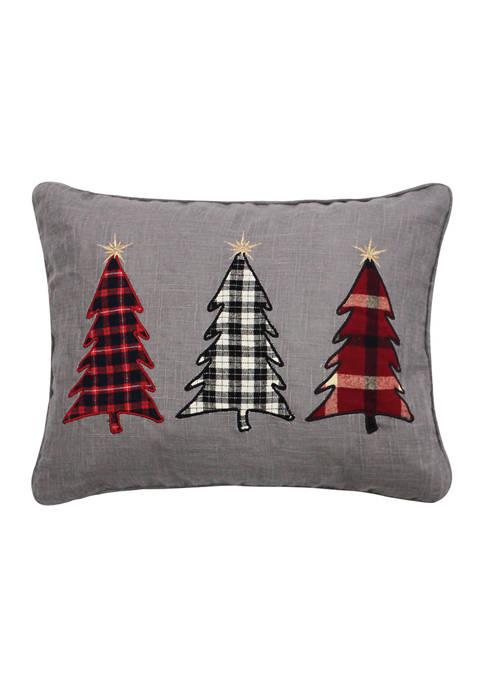 Elden Pines Christmas Trees PIllow 14 in x 18 in