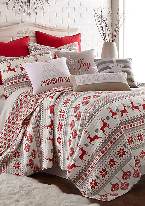 Levtex Silent Night Quilt Set