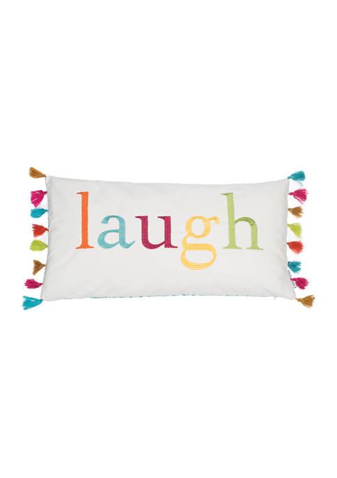Levtex Home Kelsey Laugh Tassels Pillow