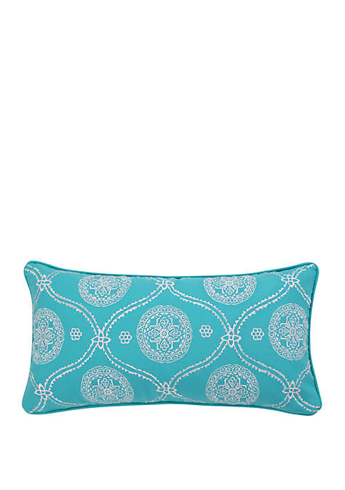 Levtex Home Mackenzie Teal Pillow