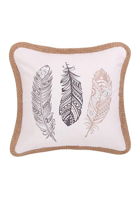 Zarya Feathers Pillow