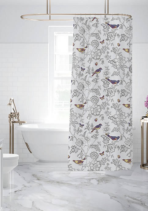 Levtex Mockingbird Shower Curtain